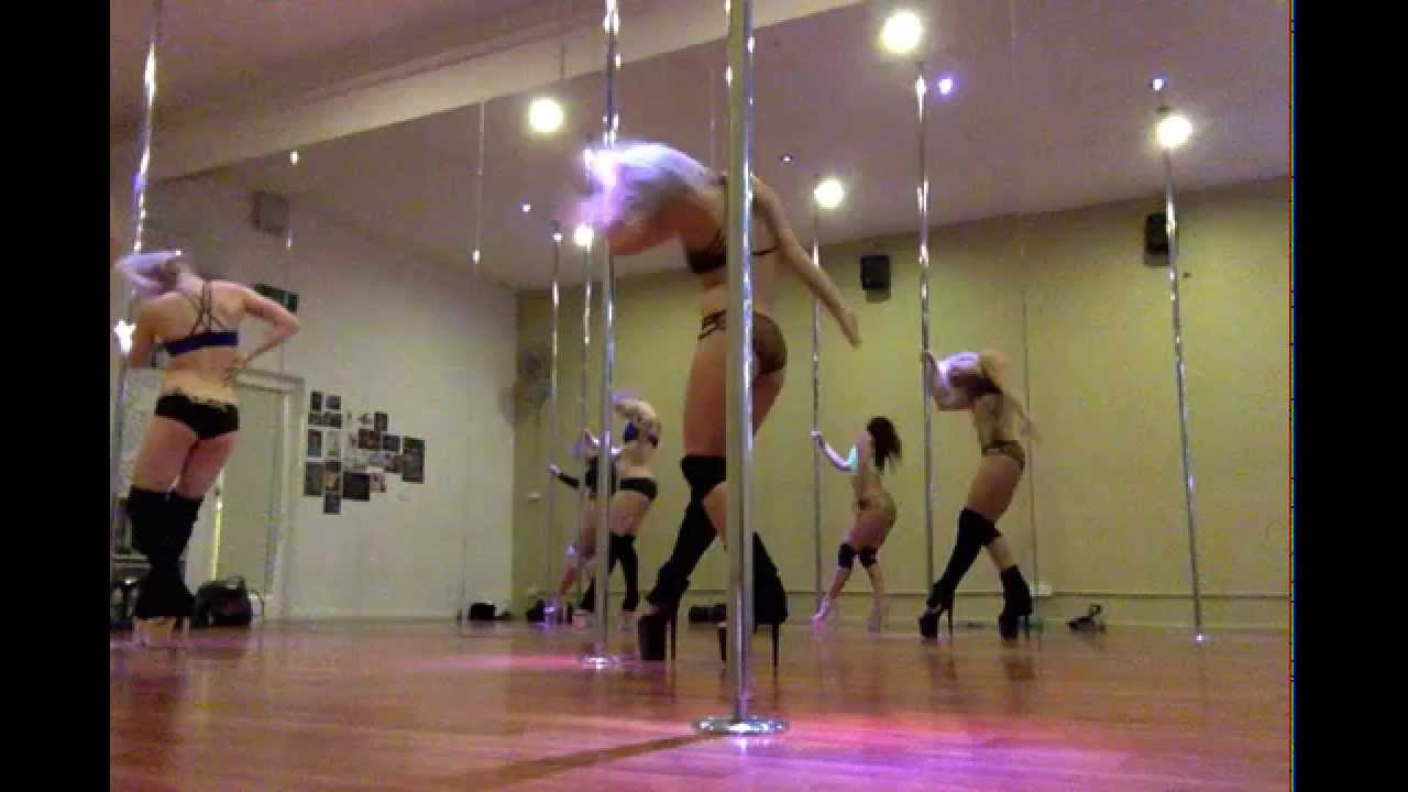 Pole Dance - Magazine cover