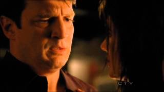 "Castle 4x23 'Always' - ""I just want you"" Kiss scene. HD"
