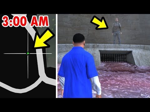 GTA 5 - This Location is HAUNTED!! (Easter Egg) thumbnail