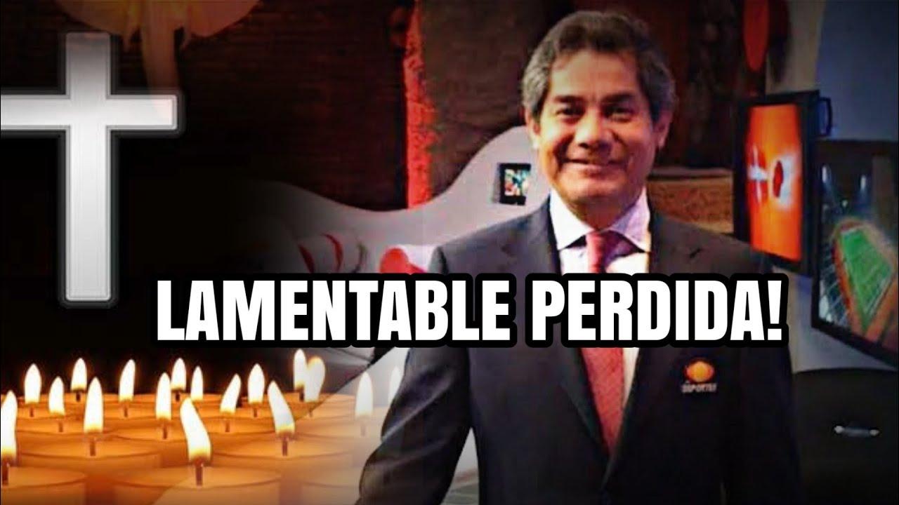 El Deporte en México esta de LUT0, Lamentable pérdida de cronista de TELEVISA
