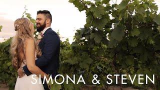 Simona & Steven | Wedding Highlight | Hernder Estate Wines, Ontario, Canada