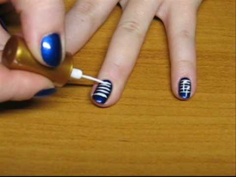 Musical Note Prints on the Nails:)