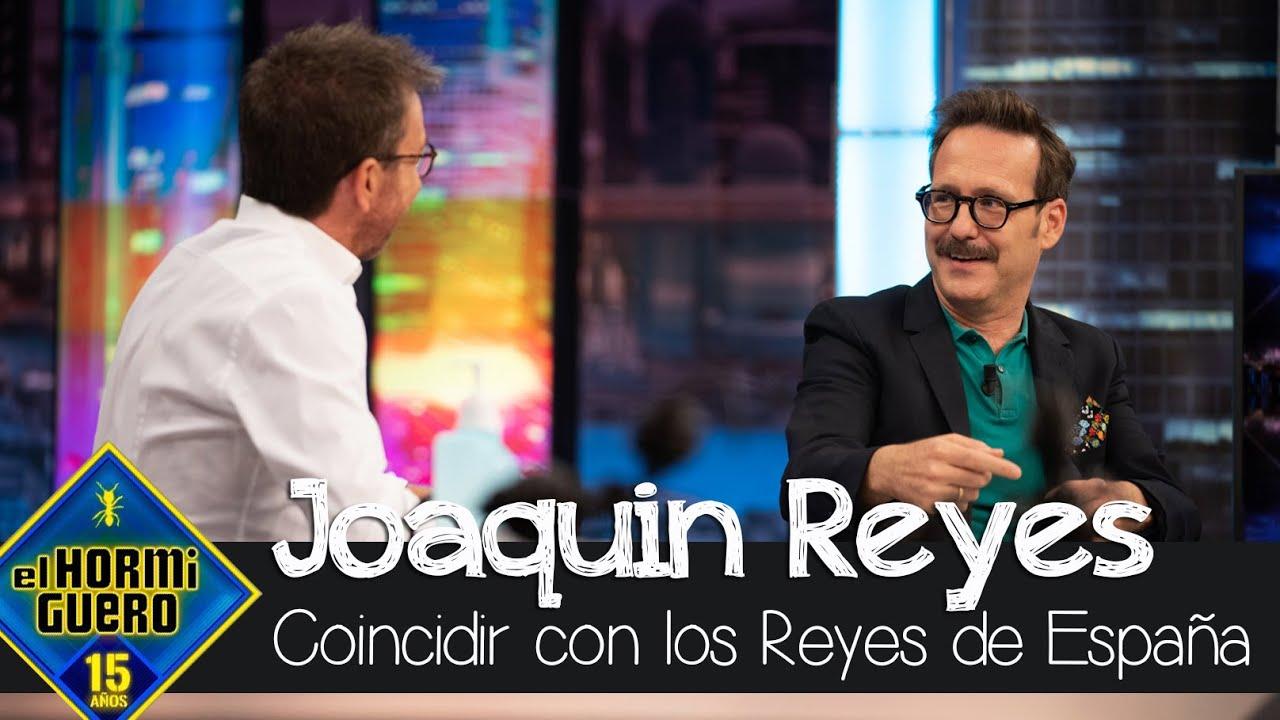 Joaquín Reyes ha coincidido con el Rey Felipe y la Reina Letizia extraordinariamente - El Hormiguero