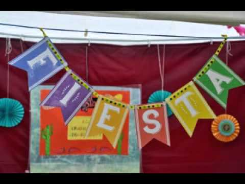easy mexican party themes decor ideas - Mexican Party Decorations