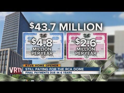 Indianapolis still paying for RCA Dome