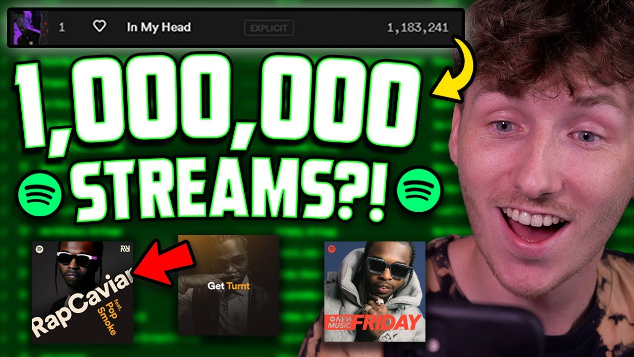 I Paid $1,000 Dollars for Spotify Promotion.. this is what happened
