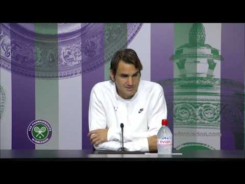 Roger Federer press conference (1R) - Wimbledon 2014
