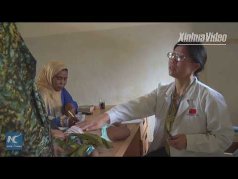 Chinese doctors provide services for poor patients in Sudan for over 40 years