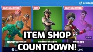 *NEW* Fortnite Swamp Stalker Skin! (Item Shop Countdown Live)