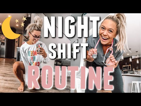 NIGHT SHIFT NURSE ROUTINE | DAY IN THE LIFE | Holley Gabrielle
