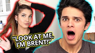 Who can DISS the other more? Brent Rivera VS Lexi Rivera | AwesomenessTV