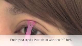 How to use eyelids glue to define your eyelid perfectly ~ Koji Eyetalk