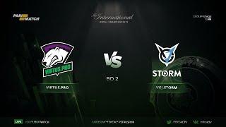 [RU] Virtus.pro vs VGJ.Storm   Bo2   The International 2018 by @Tekcac