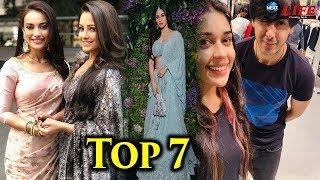 Naagin Fame Mouni Roy के Sizilling Look से लेकर Sameer aka Randeep Rai ने की खास मुलाकात | Top 7