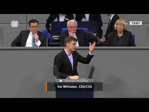 Rede Kai Whittaker MdB   Einführung einer Wohnungslosenberichterstattung