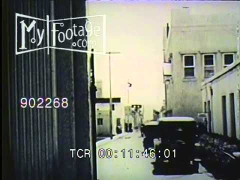 Stock Footage - MGM Studio Tour 1925 Pt. 1