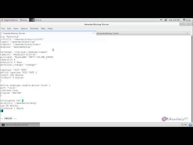 How to install amanda automatic network backup tool | linuxhelp.