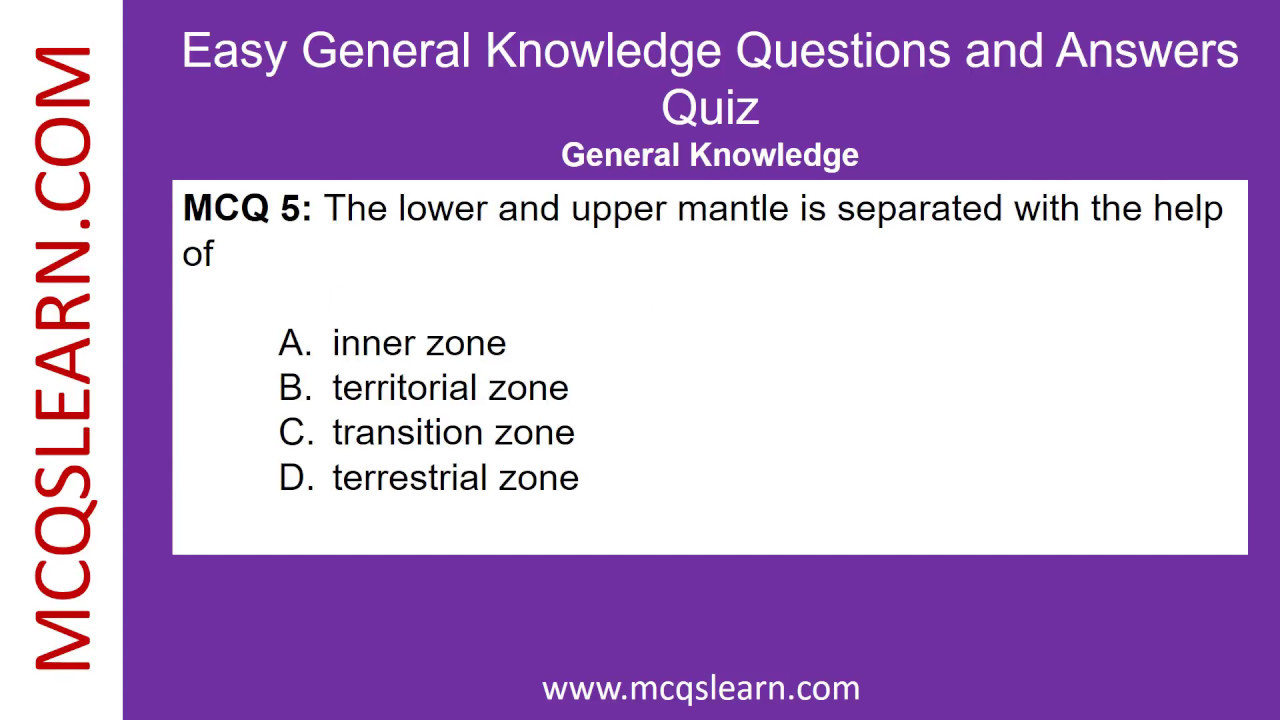 Ftce General Knowledge Test Practice Questions