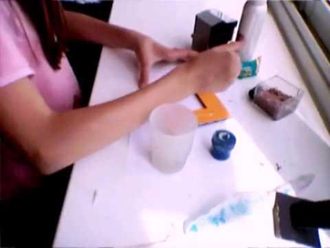 Фоторамка из карандашей