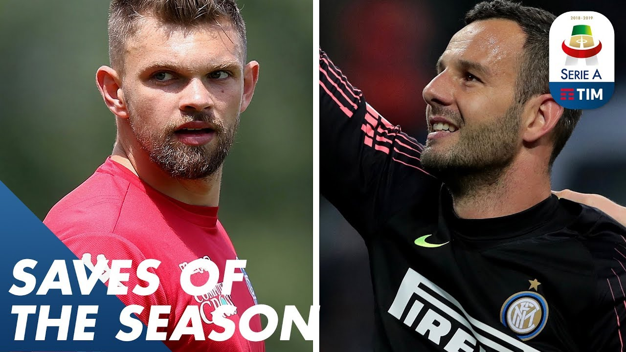 Handanović or Drągowski? | Saves of the Season | Serie A