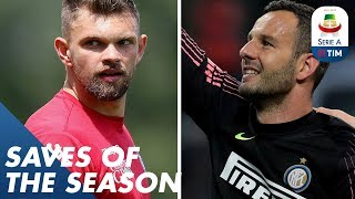 Handanović or Drągowski? | Saves of the Season | Serie A