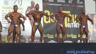 20ο Πανελλήνιο Κύπελλο IFBB - Bodybuilding Ανδρών (εως 90 κιλά)