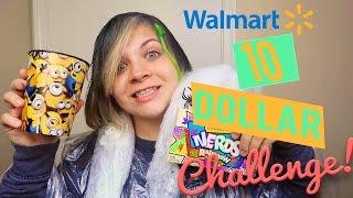 🤑 10 DOLLAR WALMART CHALLENGE!💰