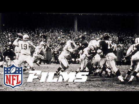 #1: 1958 NFL Championship Colts vs. Giants | Top 10 Overtime Finishes of All Time | NFL