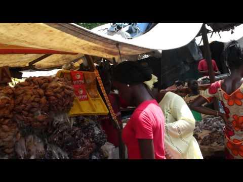 Albert Market Banjul The Gambia HD