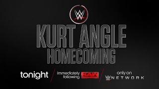 Watch WWE 24 - Kurt Angle: Homecoming tonight after Raw on WWE Network