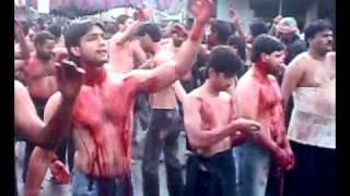 Matam in Juloos-e-arbayeen by Anjuman e masumeen, 2009