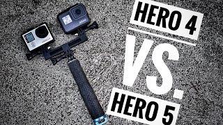 GoPro Hero 4 vs. GoPro Hero 5  Review and Tips