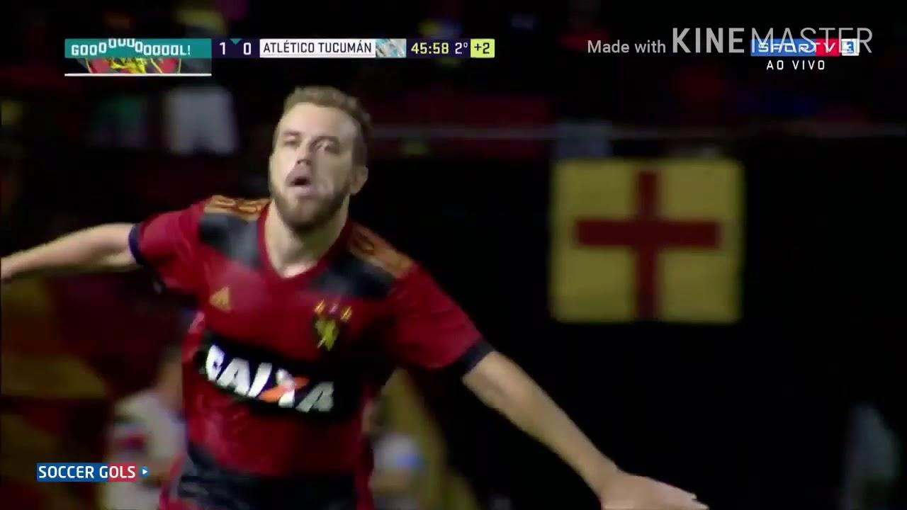 Gols De Sport 2 x 0 Atletico Tucuman Pela Tarca Ariano Suassuna