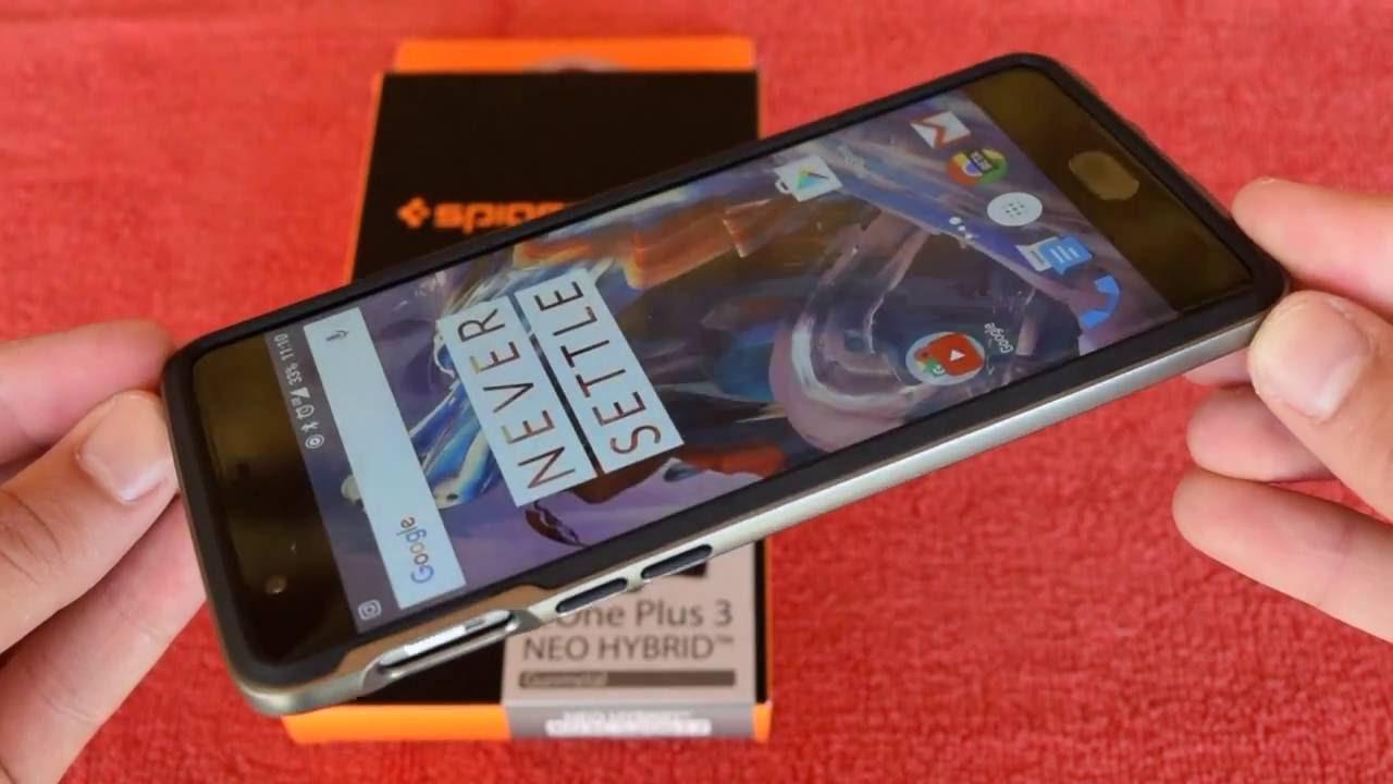 pick up 0822c 6b898 Spigen Neo Hybrid - OnePlus 3