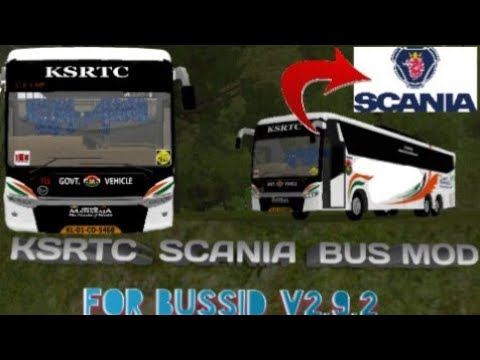 How to Download SCANIA BUS Mod For Bus Simulator Indonesia|Scania Metro  Link Bus Mod For Bussid V2 9