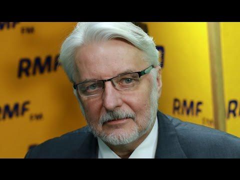 Witold Waszczykowski: Plotki o mojej dymisji są przedwczesne