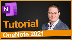 OneNote Tutorial 2020