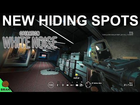 The BEST Tower Hiding Spots - Rainbow Six Siege Operation White Noise