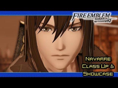 Fire Emblem Warriors (Shadow Dragon DLC Pack: Navarre   Promotion & Moveset Showcase)