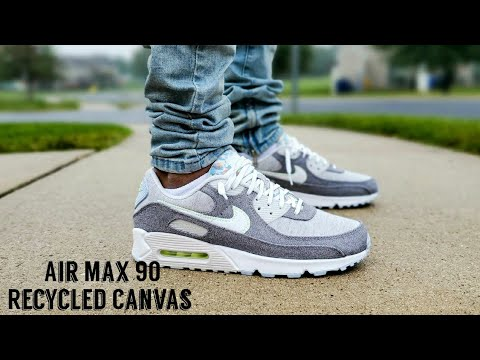 Air Max 90 NRG Crater / Recycled Canvas Unboxing & On Feet Nike Haul