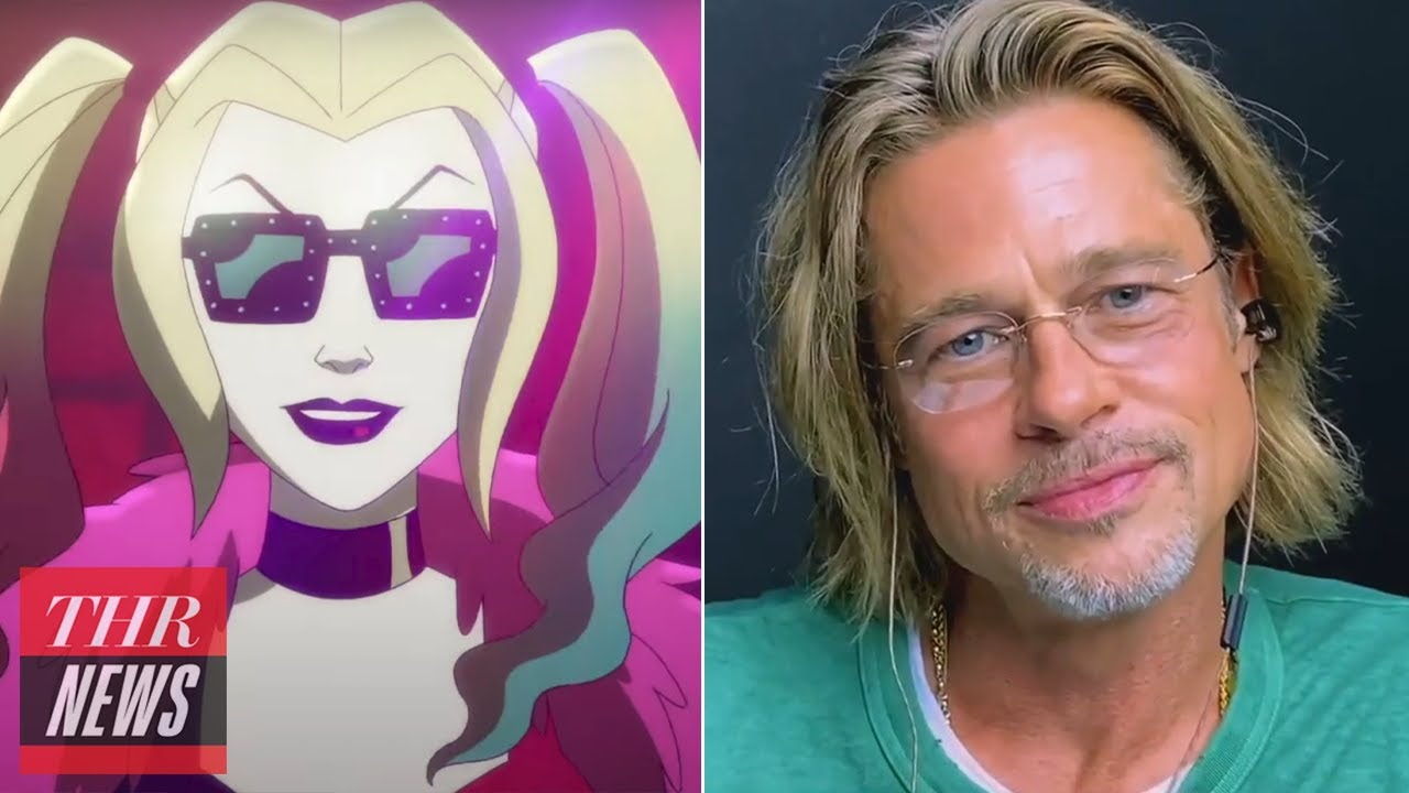 Brad Pitt and Jennifer Aniston Reunite, HBO Max Renews DC Animated Series 'Harley Quinn'   THR News
