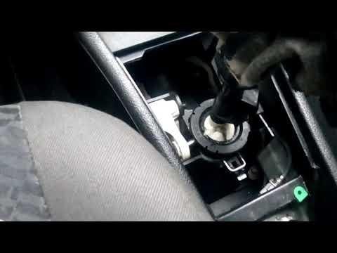Регулировка кулисы Opel Astra G (f32)