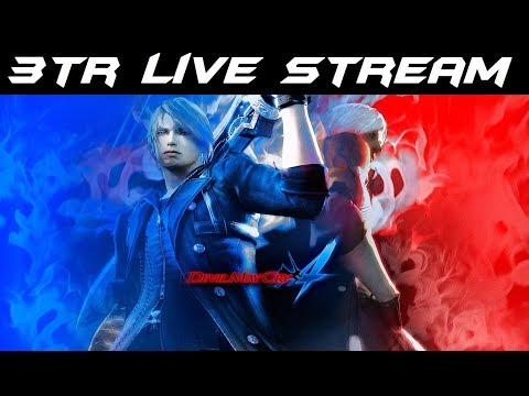 3TR Live Stream: Devil May Cry 4 (Part 3)