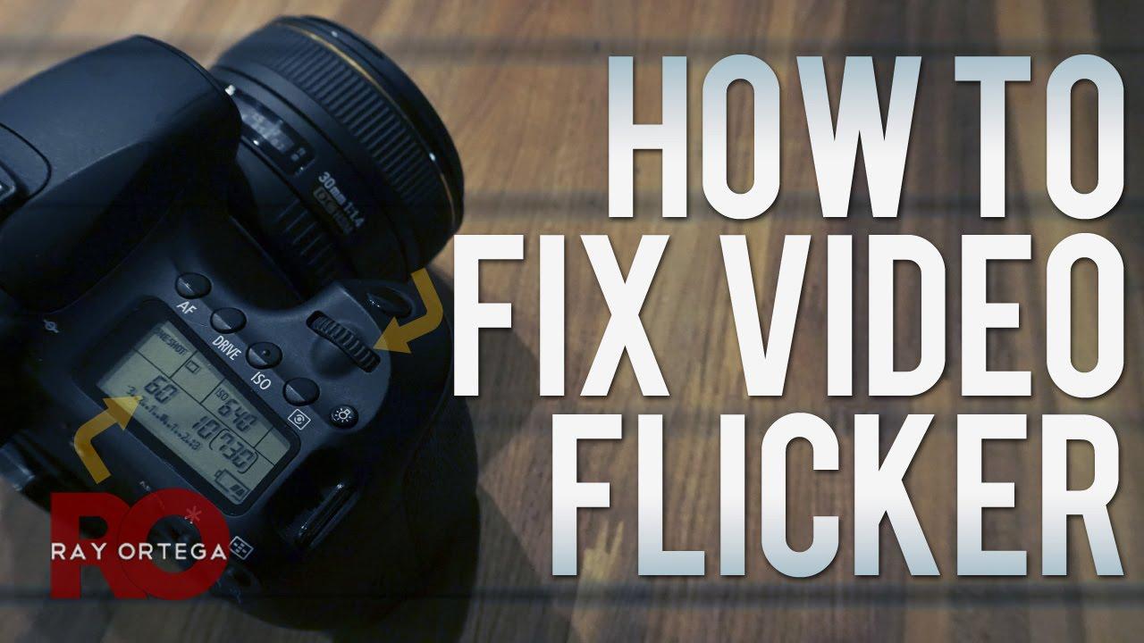 How To Fix Flickering Dslr Video Youtube Flickerledcircuit Flickr Photo Sharing