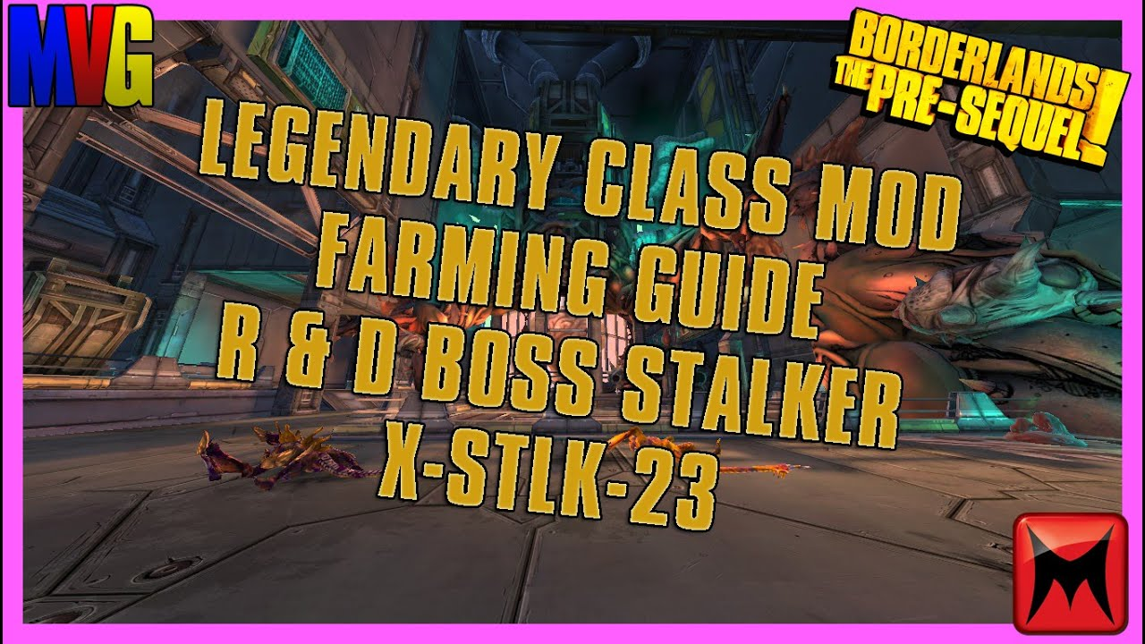 Borderlands: The Pre Sequel Legendary Class Mods Farming Guide!
