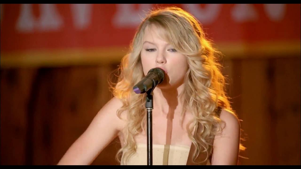 Taylor Swift Crazier From Hannah Montana The Movie Youtube