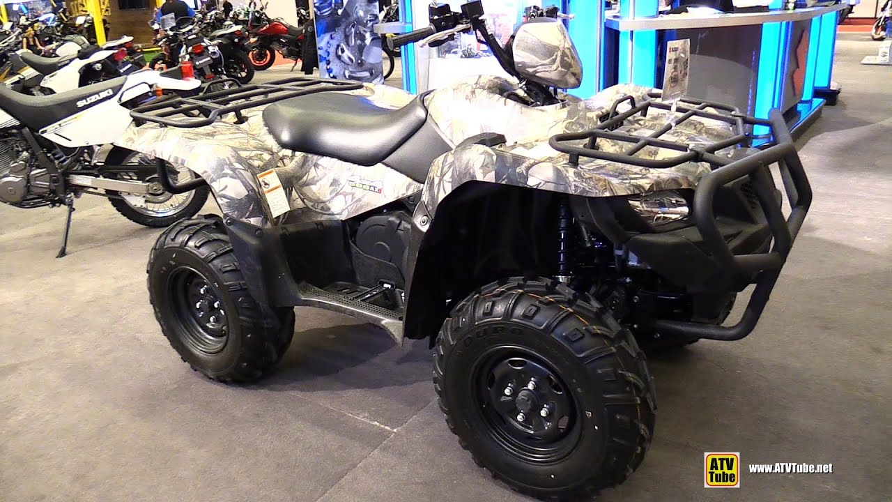 2015 suzuki king quad 500 ax utility atv walkaround. Black Bedroom Furniture Sets. Home Design Ideas