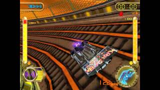 Hot Wheels Velocity X Walkthrough Part 8 They see me rollin'...