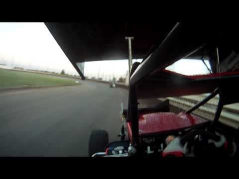 Minisprint Heat race @ KAM Raceway  6/8/12