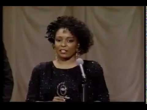 L. Scott Caldwell wins 1988 Tony Award for Best Featured Actress in a Play